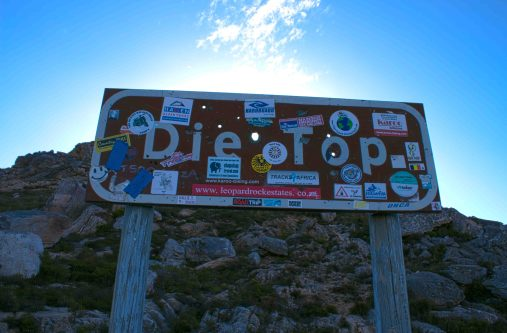 """Close-up of the sign - I loved that the different clubs & organizations all left their """"mark"""" here... so much character!!!"""