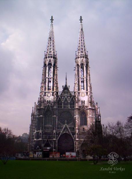 Votivkirche - December 2004